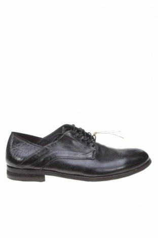 Мъжки обувки A.S. 98, Размер 41, Цвят Черен, Естествена кожа, Цена 179,25лв.
