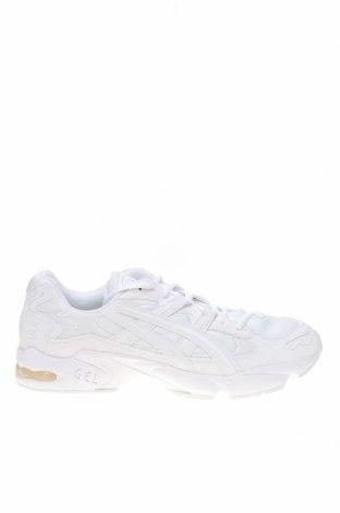 Мъжки обувки ASICS, Размер 49, Цвят Бял, Еко кожа, текстил, Цена 81,95лв.