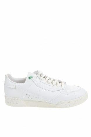 Мъжки обувки Adidas Originals, Размер 44, Цвят Бял, Еко кожа, Цена 94,50лв.