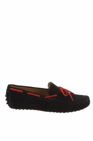 Мъжки обувки Charles & Smith, Размер 42, Цвят Черен, Естествен велур, Цена 104,25лв.