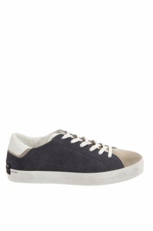 Мъжки обувки Crime London, Размер 44, Цвят Син, Естествен велур, Цена 201,75лв.