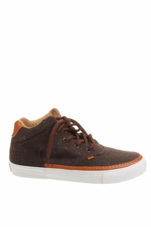 Мъжки обувки DJINNS, Размер 45, Цвят Кафяв, Текстил, еко кожа, Цена 45,82лв.