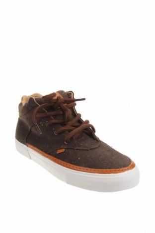 Мъжки обувки DJINNS, Размер 44, Цвят Кафяв, Текстил, еко кожа, Цена 45,82лв.