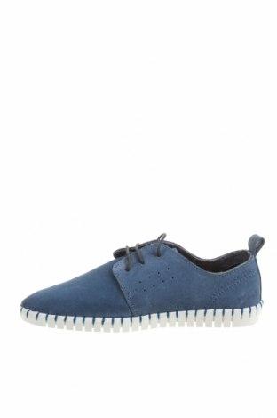 Мъжки обувки Dockers, Размер 42, Цвят Син, Естествен велур, Цена 89,25лв.
