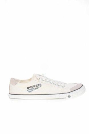 Мъжки обувки Dockers by Gerli, Размер 41, Цвят Бял, Текстил, Цена 40,02лв.