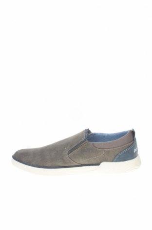 Ανδρικά παπούτσια Dockers by Gerli, Μέγεθος 41, Χρώμα Γκρί, Κλωστοϋφαντουργικά προϊόντα, Τιμή 26,68€