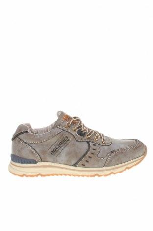Мъжки обувки Dockers by Gerli, Размер 41, Цвят Бежов, Еко кожа, Цена 45,82лв.
