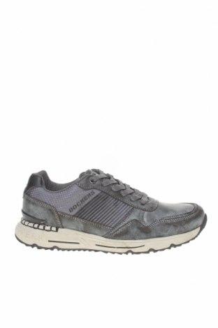 Мъжки обувки Dockers by Gerli, Размер 41, Цвят Сив, Естествена кожа, текстил, Цена 48,16лв.