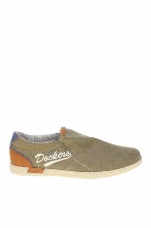 Ανδρικά παπούτσια Dockers by Gerli, Μέγεθος 42, Χρώμα Πράσινο, Κλωστοϋφαντουργικά προϊόντα, Τιμή 17,78€