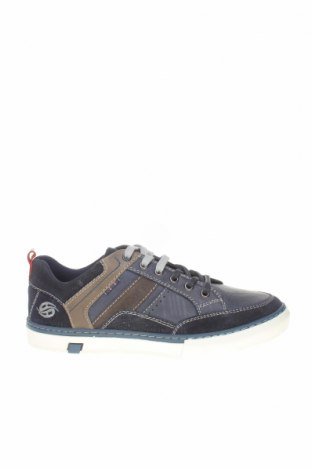Мъжки обувки Dockers by Gerli, Размер 41, Цвят Син, Естествена кожа, естествен велур, Цена 48,16лв.