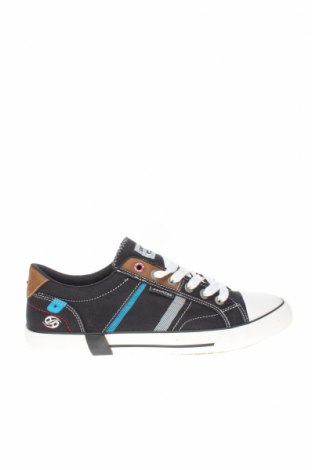 Мъжки обувки Dockers by Gerli, Размер 41, Цвят Черен, Текстил, еко кожа, Цена 38,86лв.