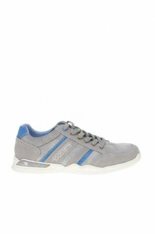 Мъжки обувки Dockers by Gerli, Размер 41, Цвят Сив, Естествена кожа, естествен велур, Цена 41,40лв.