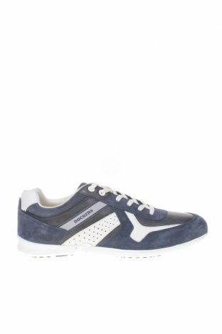 Мъжки обувки Dockers by Gerli, Размер 41, Цвят Син, Естествен велур, естествена кожа, Цена 67,10лв.