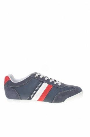 Мъжки обувки Dockers by Gerli, Размер 41, Цвят Син, Естествена кожа, естествен велур, Цена 52,46лв.