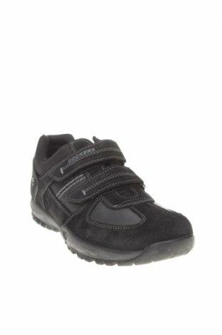 Мъжки обувки Dockers by Gerli, Размер 41, Цвят Черен, Естествен велур, естествена кожа, Цена 51,17лв.