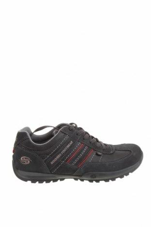 Мъжки обувки Dockers by Gerli, Размер 41, Цвят Син, Естествен велур, естествена кожа, Цена 51,17лв.