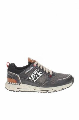Мъжки обувки Dockers by Gerli, Размер 41, Цвят Черен, Еко кожа, текстил, Цена 42,78лв.