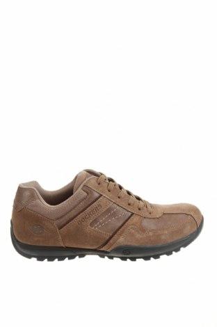 Мъжки обувки Dockers by Gerli, Размер 41, Цвят Кафяв, Естествена кожа, естествен велур, Цена 65,45лв.