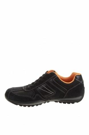 Мъжки обувки Dockers by Gerli, Размер 41, Цвят Черен, Естествена кожа, естествен велур, Цена 63,07лв.