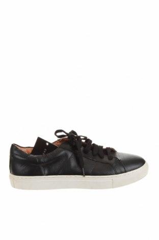 Мъжки обувки Geoffrey Beene, Размер 44, Цвят Черен, Естествена кожа, Цена 56,23лв.