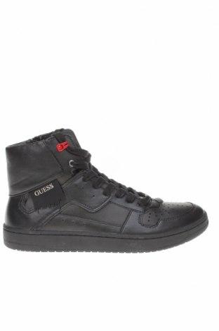 Мъжки обувки Guess, Размер 42, Цвят Черен, Естествена кожа, еко кожа, Цена 66,65лв.