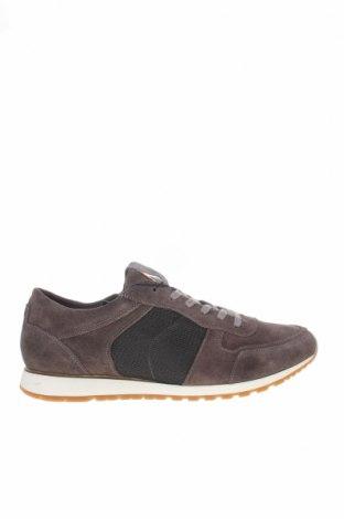 Мъжки обувки Hackett, Размер 43, Цвят Сив, Естествен велур, текстил, Цена 144,00лв.