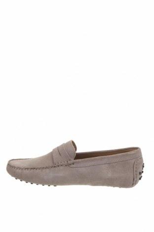 Ανδρικά παπούτσια John Scott, Μέγεθος 42, Χρώμα Γκρί, Φυσικό σουέτ, Τιμή 46,01€