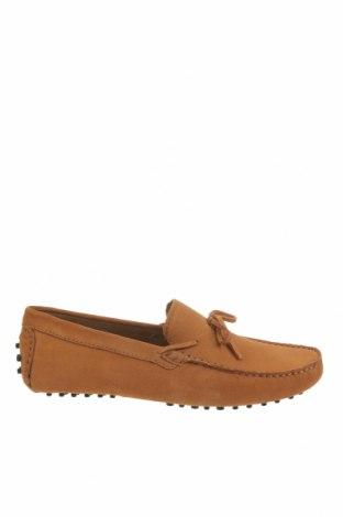 Мъжки обувки John Scott, Размер 42, Цвят Жълт, Естествен велур, Цена 41,23лв.