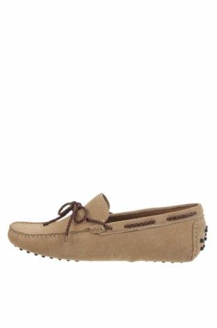 Ανδρικά παπούτσια John Scott, Μέγεθος 42, Χρώμα  Μπέζ, Φυσικό σουέτ, Τιμή 21,40€