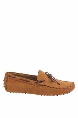 Мъжки обувки John Scott, Размер 42, Цвят Жълт, Естествен велур, Цена 43,09лв.