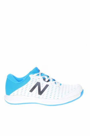 Мъжки обувки New Balance, Размер 44, Цвят Бял, Еко кожа, полиуретан, Цена 134,25лв.