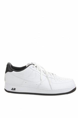Мъжки обувки Nike, Размер 52, Цвят Бял, Естествена кожа, еко кожа, Цена 104,50лв.