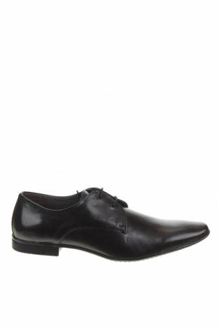 Мъжки обувки Pier One, Размер 45, Цвят Черен, Естествена кожа, Цена 61,92лв.
