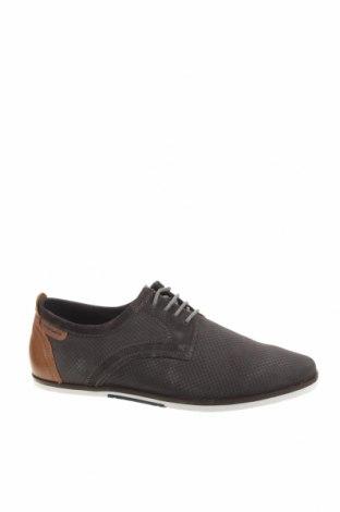 Мъжки обувки Pier One, Размер 41, Цвят Сив, Естествена кожа, Цена 57,12лв.