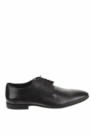 Мъжки обувки Pier One, Размер 45, Цвят Черен, Естествена кожа, Цена 60,48лв.