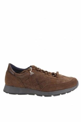 Мъжки обувки SUN68, Размер 42, Цвят Кафяв, Естествен велур, Цена 149,25лв.