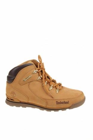 Мъжки обувки Timberland, Размер 42, Цвят Жълт, Естествена кожа, Цена 289,00лв.