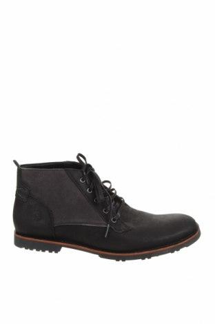 Мъжки обувки Timberland, Размер 45, Цвят Черен, Естествена кожа, естествен велур, Цена 419,00лв.
