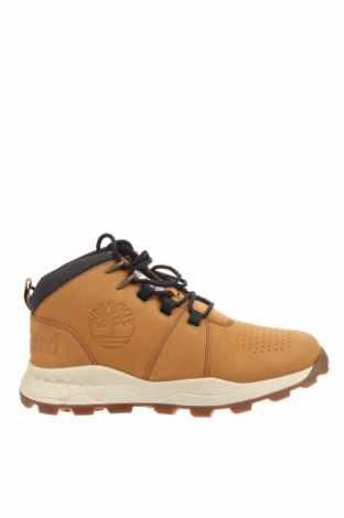 Мъжки обувки Timberland, Размер 43, Цвят Жълт, Естествена кожа, Цена 289,00лв.