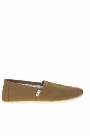 Мъжки обувки Toms, Размер 42, Цвят Зелен, Текстил, Цена 47,52лв.