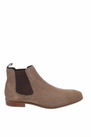 Ανδρικά παπούτσια Zign, Μέγεθος 43, Χρώμα  Μπέζ, Φυσικό σουέτ, Τιμή 26,88€
