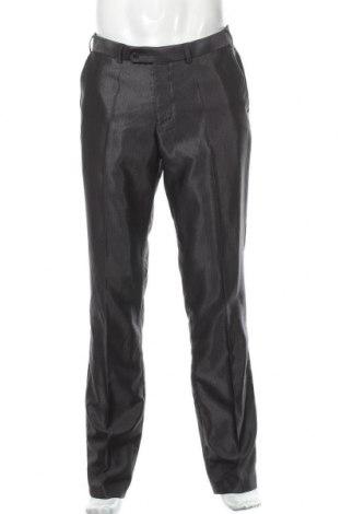 Мъжки панталон Angelo Litrico, Размер M, Цвят Сив, 80% полиестер, 20% вискоза, Цена 19,64лв.