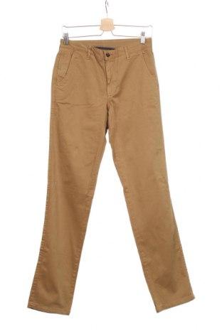 Мъжки панталон Cortefiel, Размер S, Цвят Кафяв, 98% памук, 2% еластан, Цена 31,74лв.