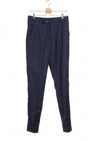 Ανδρικό παντελόνι Cortefiel, Μέγεθος S, Χρώμα Μπλέ, 55% μαλλί, 43% πολυεστέρας, 2% ελαστάνη, Τιμή 10,59€