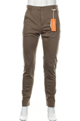 Pantaloni de bărbați Dockers, Mărime S, Culoare Bej, 93% bumbac, 7% elastan, Preț 63,55 Lei