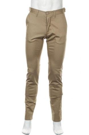 Pantaloni de bărbați Esprit, Mărime L, Culoare Bej, 97% bumbac, 3% elastan, Preț 34,74 Lei