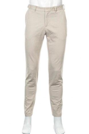 Мъжки панталон Filippa K, Размер M, Цвят Бежов, 96% памук, 4% еластан, Цена 44,25лв.