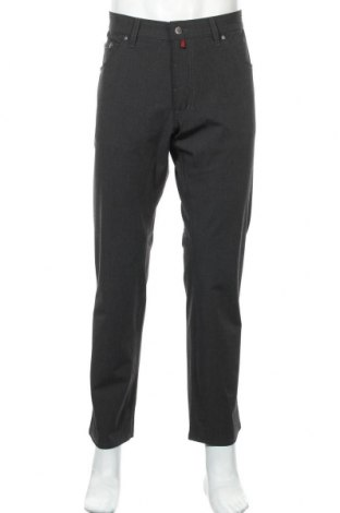 Мъжки панталон Pierre Cardin, Размер L, Цвят Сив, 66% полиестер, 28% вискоза, 6% еластан, Цена 18,24лв.
