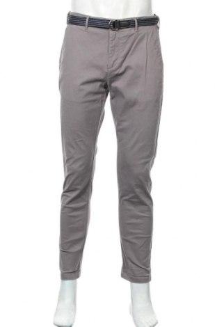 Мъжки панталон Scotch & Soda, Размер M, Цвят Сив, 98% памук, 2% еластан, Цена 26,88лв.