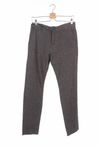 Ανδρικό παντελόνι Selected Homme, Μέγεθος S, Χρώμα Γκρί, 98% βαμβάκι, 2% ελαστάνη, Τιμή 14,84€